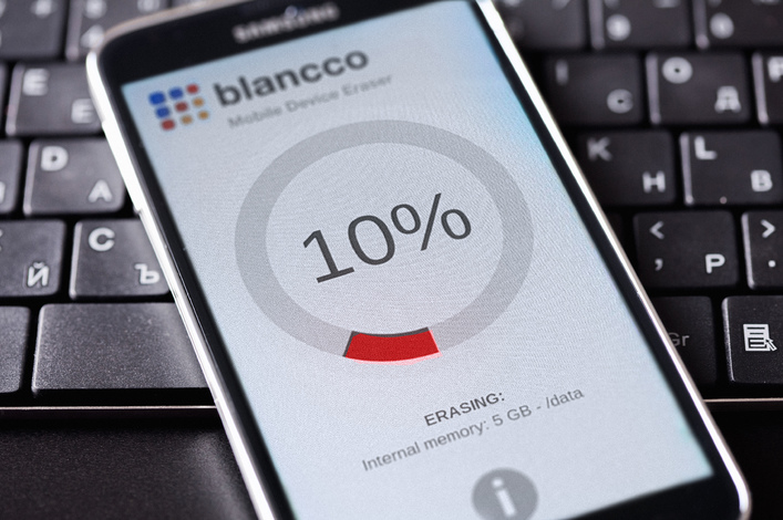 Blancco Data Eraser software