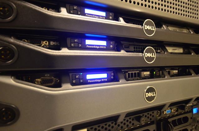 Servidores hosting web