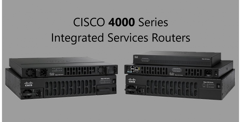 Routers Cisco 4000