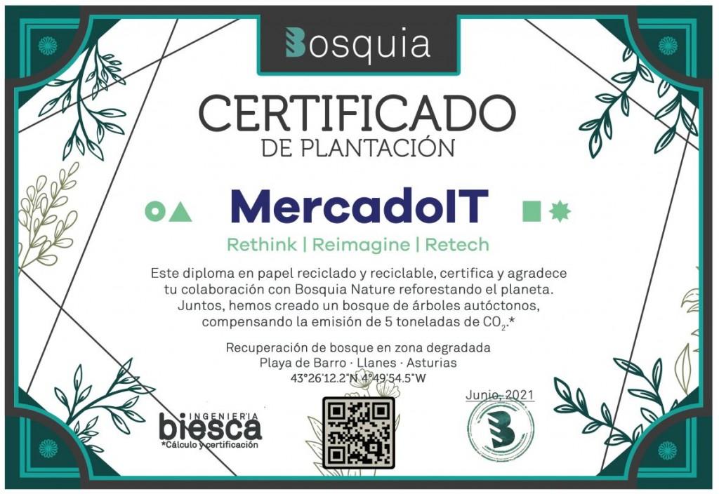 Certificado Bosquia