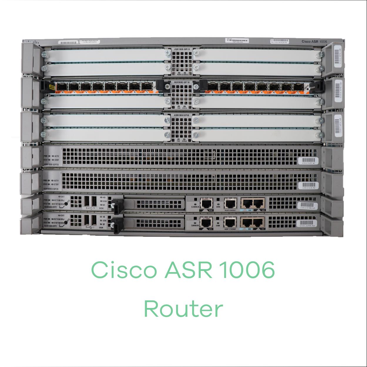 Cisco ASR 1006