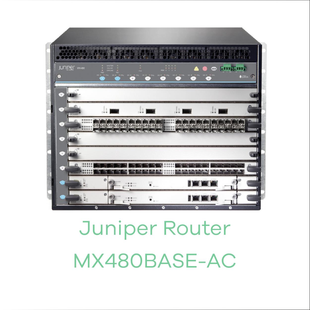 Juniper Router MX480BASE-AC
