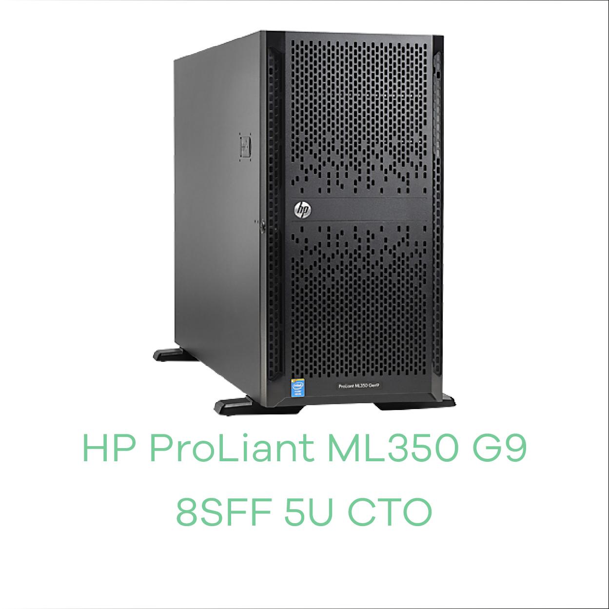 HP ML350 GEN9