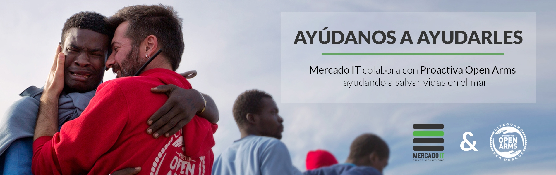 Mercado IT y Proactiva Open Arms