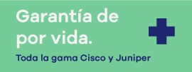 garantia de por vida cisco, juniper, hp